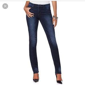 DKNY soho skinny jeans dark wash